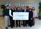 HYUNDAI MOTOR MANUFACTURING ALABAMA DONATES MORE THAN $195,000 TO THE UNITED WAYS OF ALABAMA