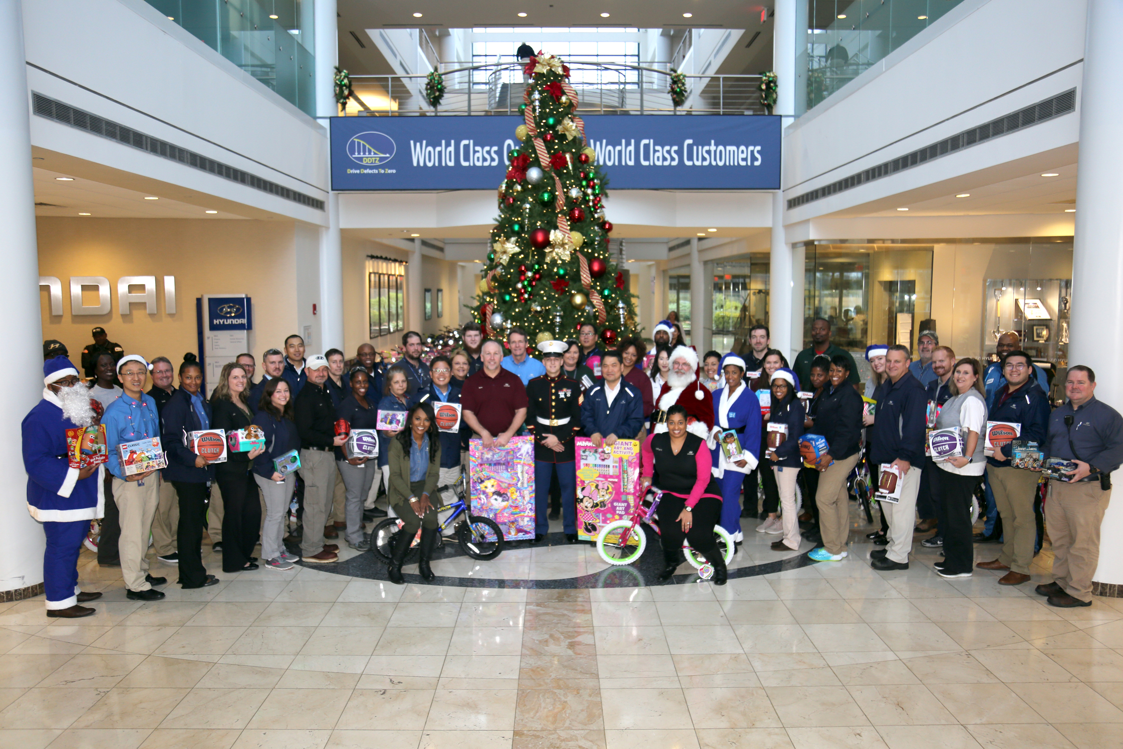 Toys for Tots 2018 Group Photo