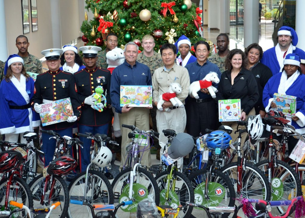 Toys For Tots Campaign Logo : Toys for tots campaign hyundai motor manufacturing