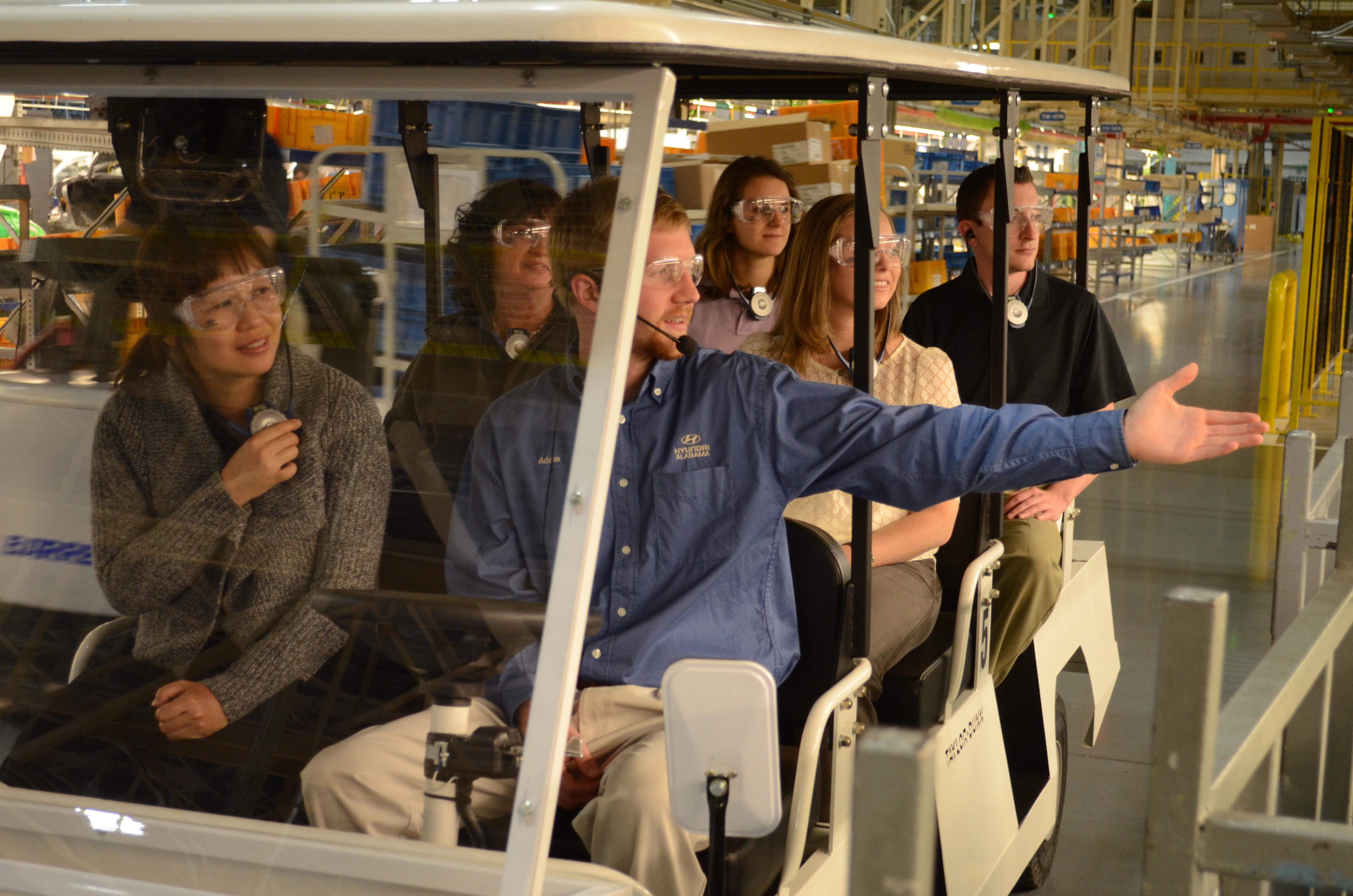 Hyundai Montgomery Alabama Tours