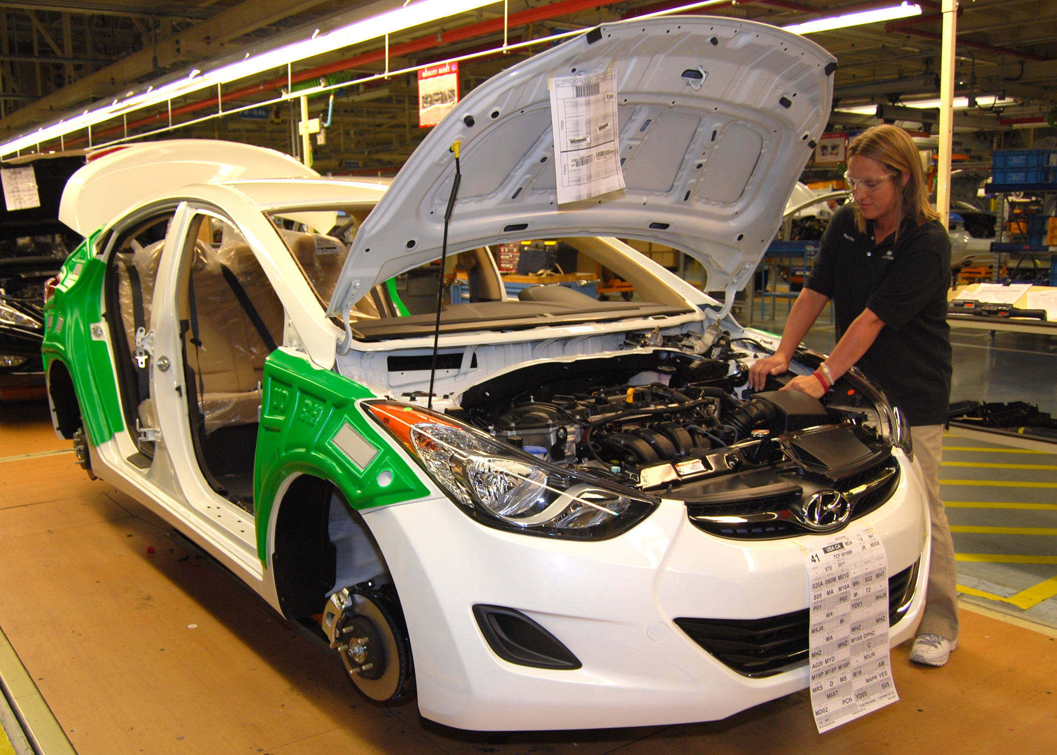 HMMA produces 31,730 vehicles during March 2011