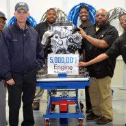 HYUNDAI MOTOR MANUFACTURING ALABAMA CELEBRATES 5 MILLIONTH ENGINE MILESTONE