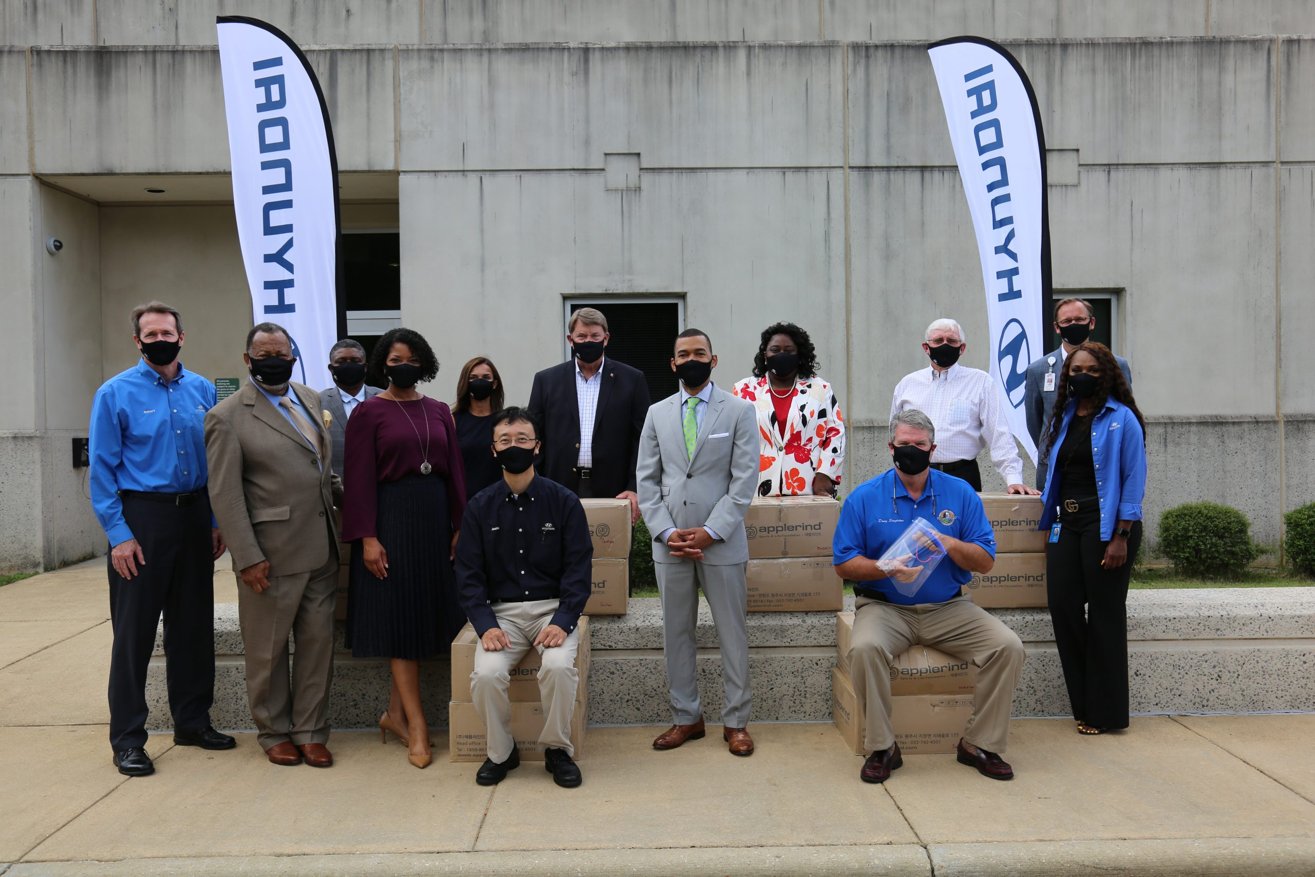 HMMA DONATES MASKS AND FACE SHIELDS TO MONTGOMERY AREA HEALTH CARE PROVIDERS AND COMMUNITY
