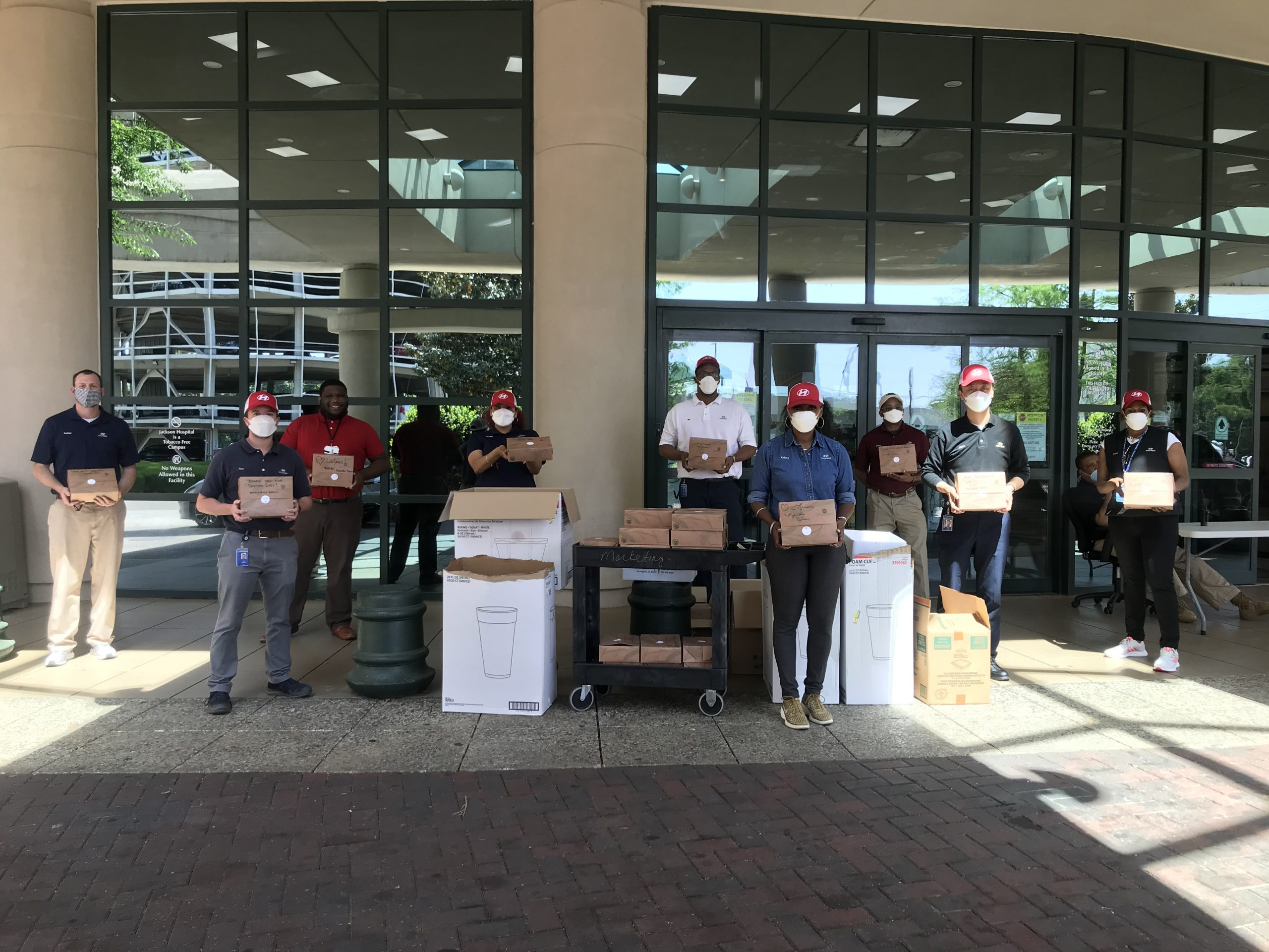 HYUNDAI MOTOR MANUFACTURING ALABAMA DONATES FREE LUNCHES TO MONTGOMERY AREA HEALTH PROVIDERS